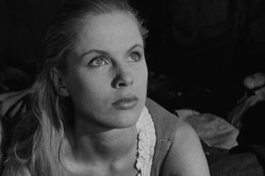 La actriz, en su juventud: junto a Bergman filmó once de sus películas más memorables