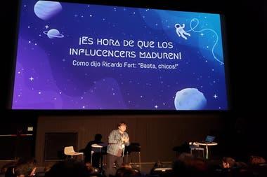 Se discutió desde el rol de la tecnología y los datos en los medios de comunicación, al lugar que ocupan los influencers en el ecosistema de la publicidad