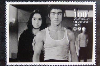 Estampilla de Bruce Lee