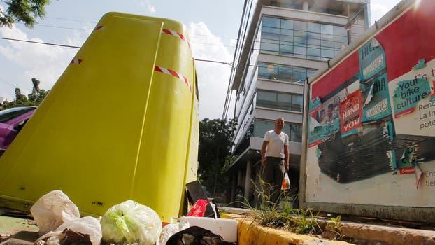 Contenedores de basura. Foto: Archivo / Emiliano Lasalvia