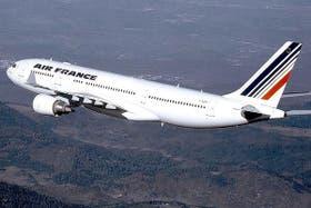 Una imagen del Airbus 330, el avión que desapareció
