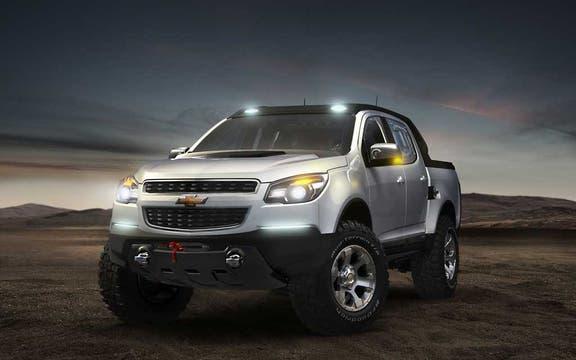 Chevrolet presenta esta pickup como un concept, pero en realidad está mostrando cómo es la futura S-10.