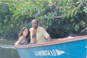Elena Roger y Luis Ziembrowski son Lisa y Lalo, adultos, en la película de Hernández
