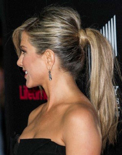 Este look es ideal para las que tienen pelo largo y con mucha cantidad..