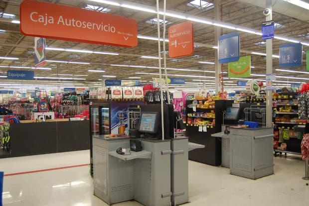En Wall-Mart, hay 40 módulos en 20 supermercados de todo el país
