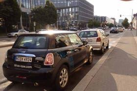 En Alemania para poder entrar en el casco histórico hay que tener autos que complan con normas contra la contaminación y el ruido