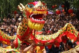 Como acostumbra, la comunidad china en Buenos Aires se prepara para festejar al fin de semana próximo el Año Nuevo número 4713