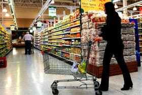 Subieron las ventas en supermercados y shoppings