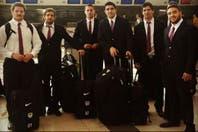 Los Pumas volvieron al país luego de su gran actuación en el Mundial