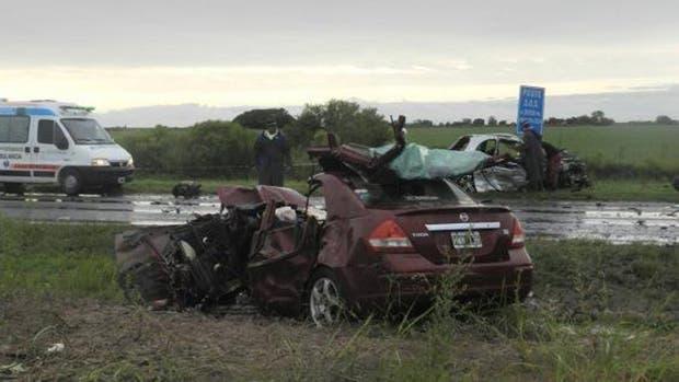 El choque ocurrió en la ruta nacional 18, cerca a la localidad entrerriana de Viale