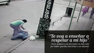Feroz golpiza a un preceptor en San Luis
