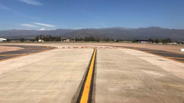 Así quedó el aeropuerto de Mendoza