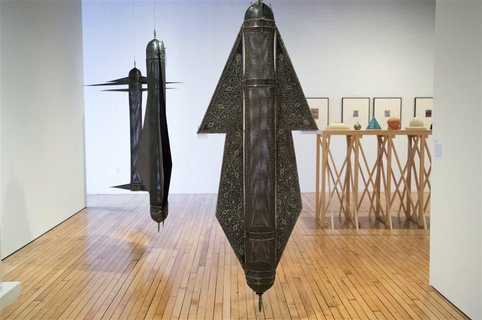 Proyectil 10, obra de Pouyan que tendrá dificultades para ser exhibida en el exterior NYT