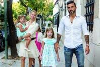 Nicole Neumann y Fabián Cubero, separados, siguen haciendo planes de familia
