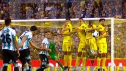 Boca-Racing, Superliga la jugada dudosa en la mano de Bennedetto