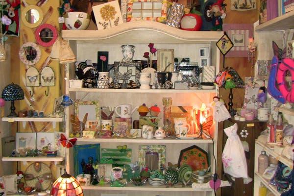 Todos los objetos están hechos artesanalmente. Foto: Romina Salusso