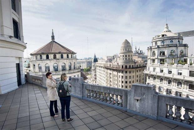 Desde la cúpula del edificio Miguel Bencich se puede ver gran parte de la ciudad