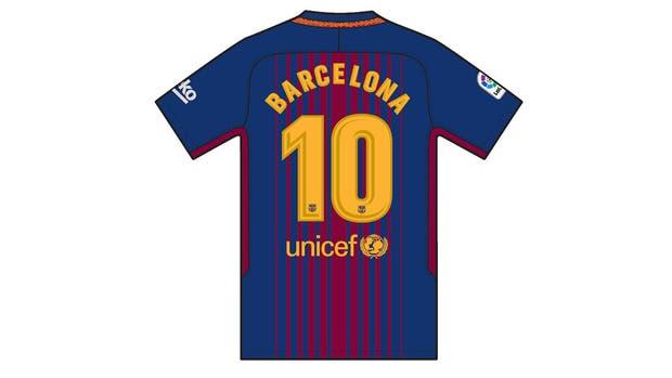 Así será la camiseta que usará Barcelona