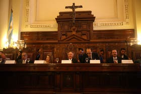 Una veintena de organizaciones judiciales reafirmaron el respaldo a la Corte Suprema