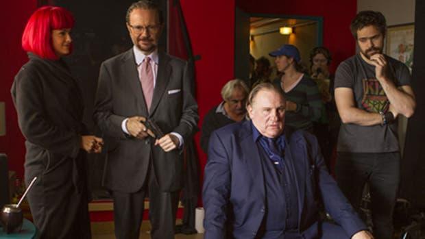 Gerard Depardieu protagonizará una película con Peter Lanzani