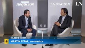 Martín Tetaz, economista, en diálogo con José Del Rio
