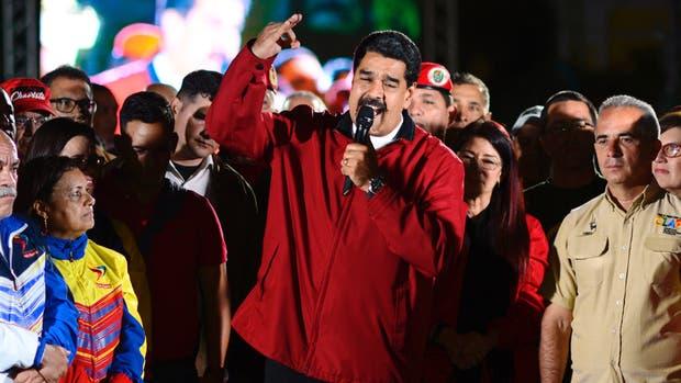 """Así celebró Maduro la victoria: """"¡Qué carajo nos importa lo que diga Trump!"""""""