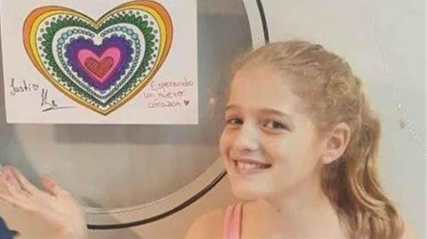 Murió Justina, la nena que aguardaba por un corazón