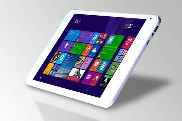Boris T811W es una tableta con pantalla de 8 pulgadas y Windows 8.1