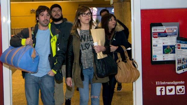 Los hijos de Báez llegaron a Buenos Aires la semana pasada