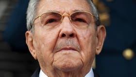 El líder cubano, Raúl Castro