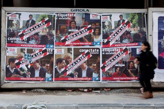 Según establece la ley, la campaña comenzará el próximo 12 de julio. Foto: LA NACION / Ezequiel Muñoz