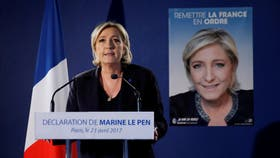Macron y Le Pen, los favoritos para pasar a la segunda vuelta en Francia