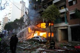 La explosión en el edificio de la calle Salta dejó 21 muertos y más de 60 heridos