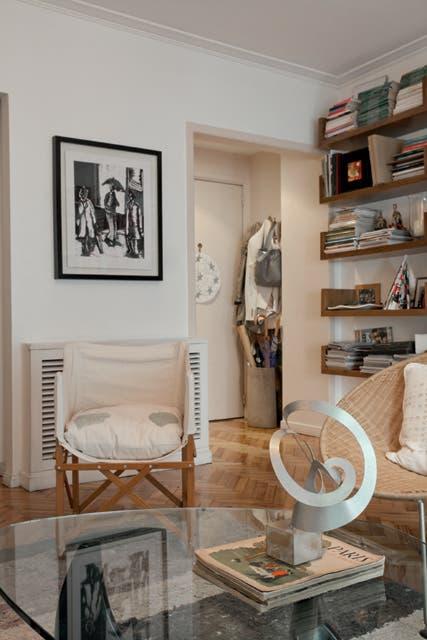 Réplica pequeña de una escultura de Enio Iommi.  Foto:Living /Daniel Karp