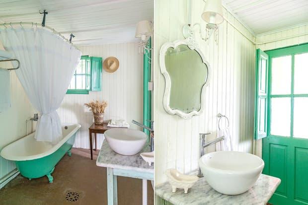 Baños Estilo Campo Fotos:Estilo campo: 2 casas con decoración artesanal – Living – ESPACIO