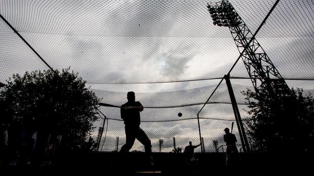 Entrenamiento de la selección Argentina de Béisbol