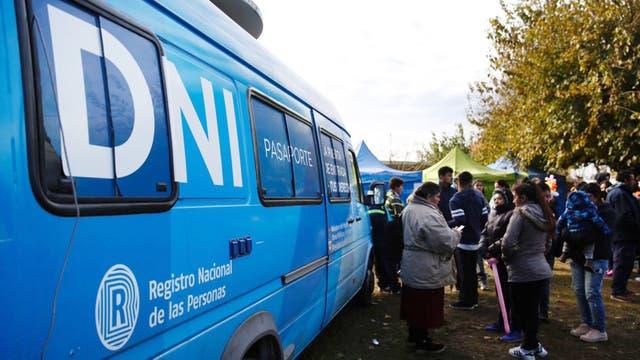 En un operativo en Pilar, unos 20 menores tramitaron su DNI