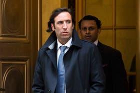 Lorenzino, al salir este miércoles de la Corte de Apelaciones de Nueva York
