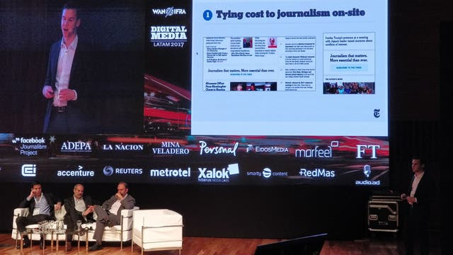 Ben Cotton, director de marketing de producto del New York Times