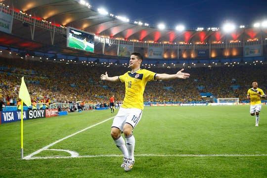 James Rodríguez y un gran Mundial. Foto: Reuters