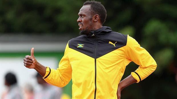Usain Bolt llevó a Jamaica a la final en su última función