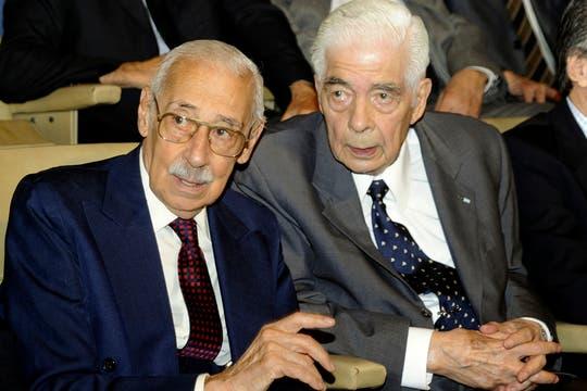 Un tribunal de Córdoba encontró a Videla y Menéndez, culpables del asesinato de disidentes durante el periodo de la dictadura militar entre 1976 y 1983. Foto: Archivo