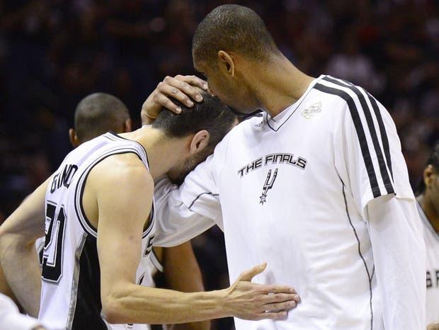 Duncan y el abrazo al argentino