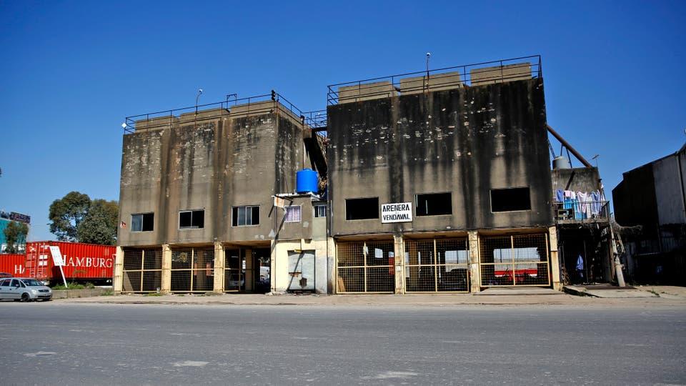 Renovarán el puerto arenero de Buenos para convertirlo en un paseo. Foto: LA NACION / Silvana Colombo