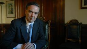 El senador y jefe de bloque del PJ, Miguel Pichetto