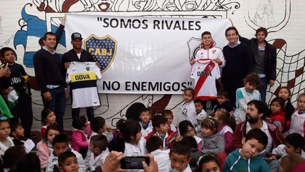 Fabra y Andrade, unidos contra la violencia en el fútbol