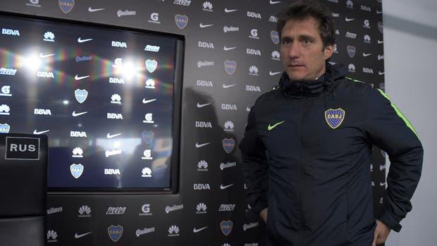 El técnico de Boca y su visión de futuro