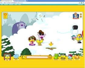 El felino más famoso y su sitio Mundo Gaturro con muchos personajes queribles. Lo hallamos en www.mundogaturro.com