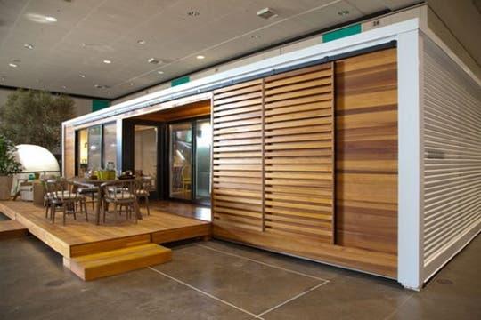 Los diseños de casas sustentables no resignan diseño en pos de ser amigables con el medio ambiente.