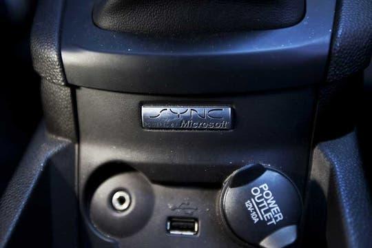 La plataforma Sync de Ford fue desarrollada de forma conjunta con Microsoft. Foto: Sebastián Rodeiro